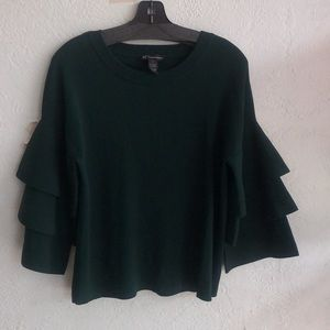 INC long sleeve knit top